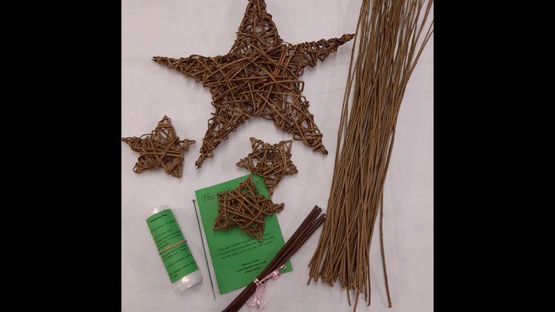 Large Star Willow Craft Kit