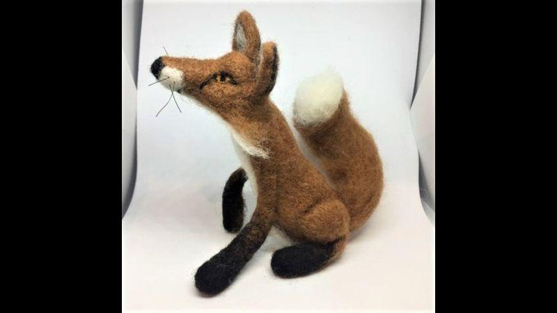 Needle Felted Fox Making Kit