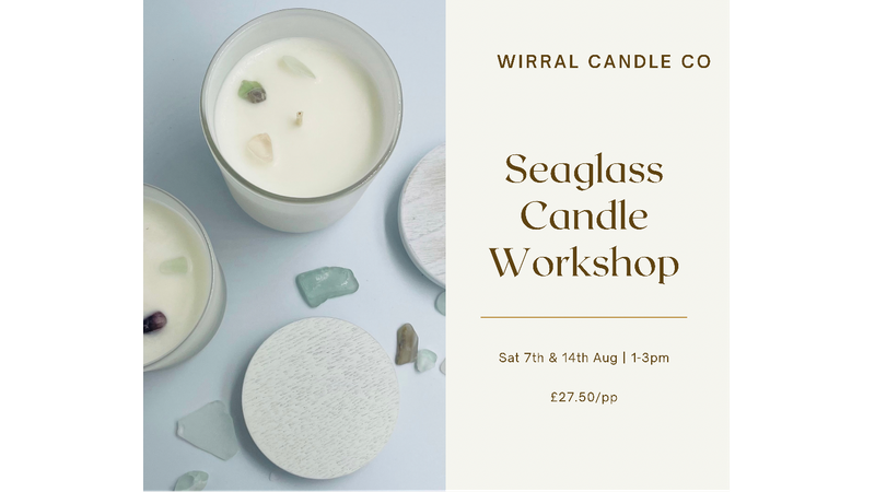 Seaglass Candle Workshop