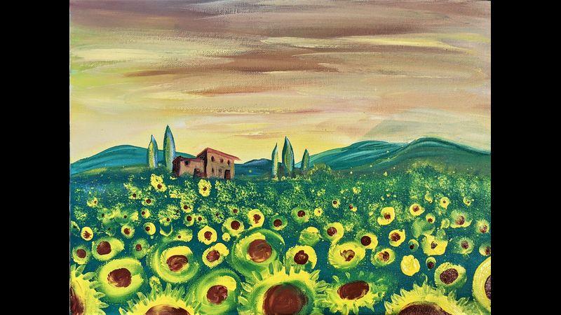 Painting Model: Sunny Tuscany