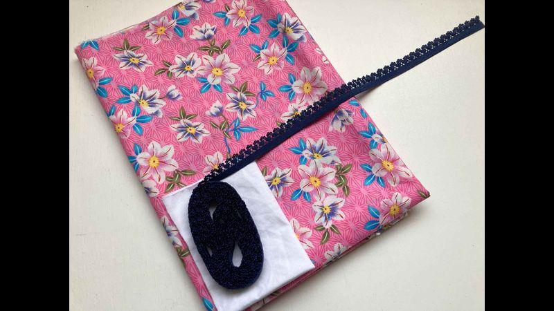 Beginner Knicker Kit - pink Floral