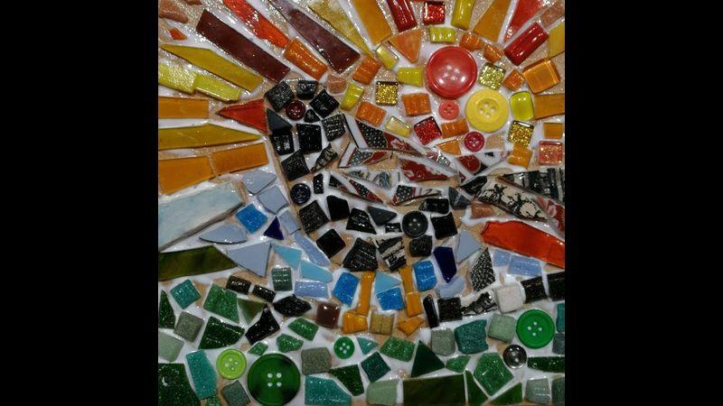 Students Mosaic Bird