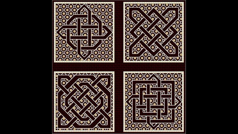 Blackwork Celtic Knots from DoodleCraft Design