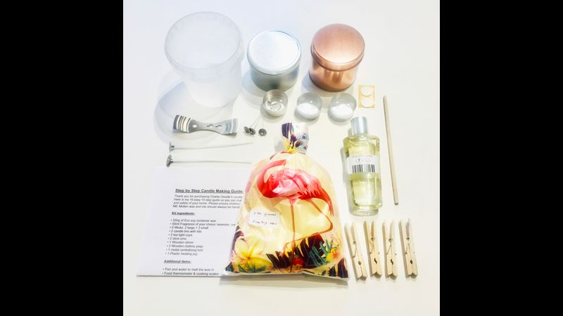 Eco Soy Candle making kit
