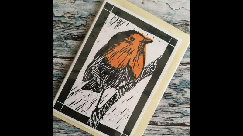 Golden Robin card