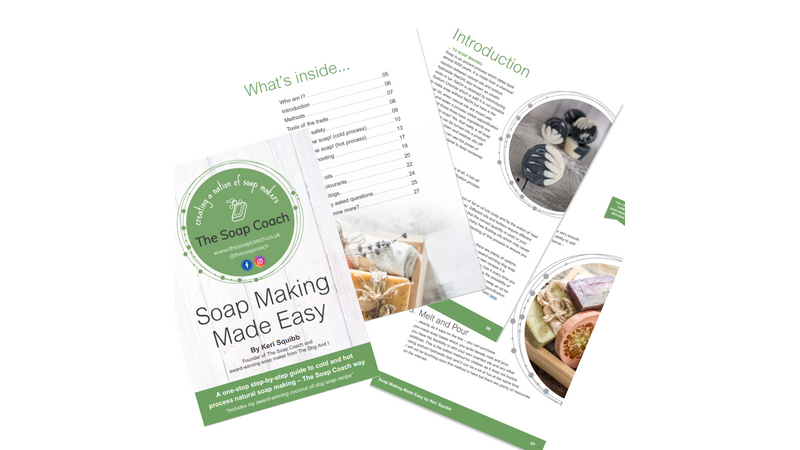 Soap Making Made Easy eBook - sneak peek