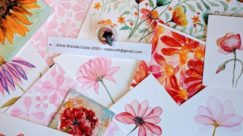 Watercolour Classes with artist Brenda Coyle