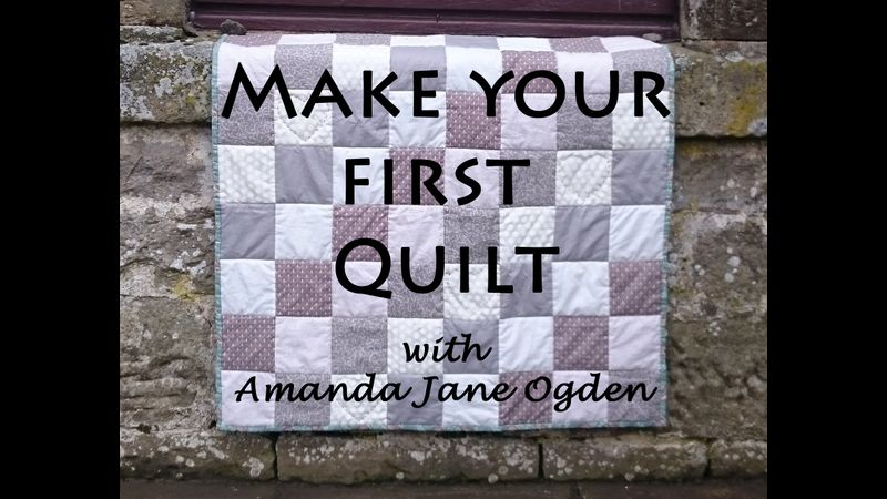 The title of this course is 'Make Your First Quilt' with Amanda Jane Ogden