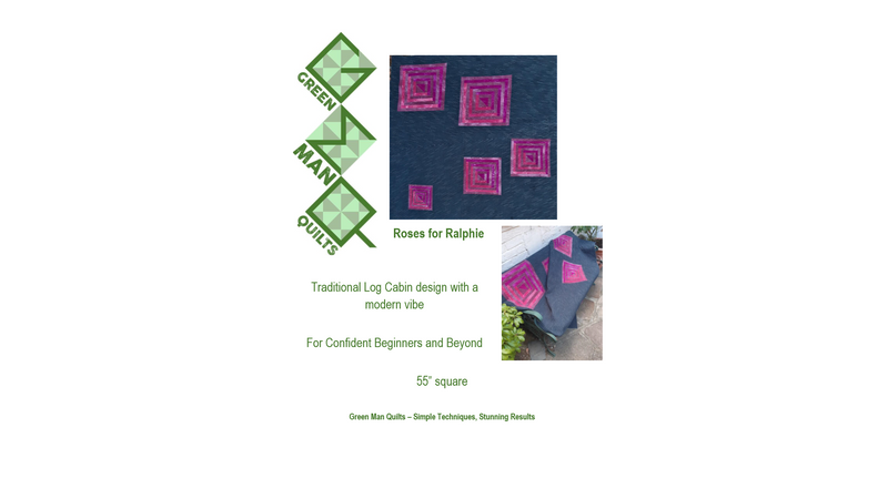 Pattern front - Roses for Ralphie