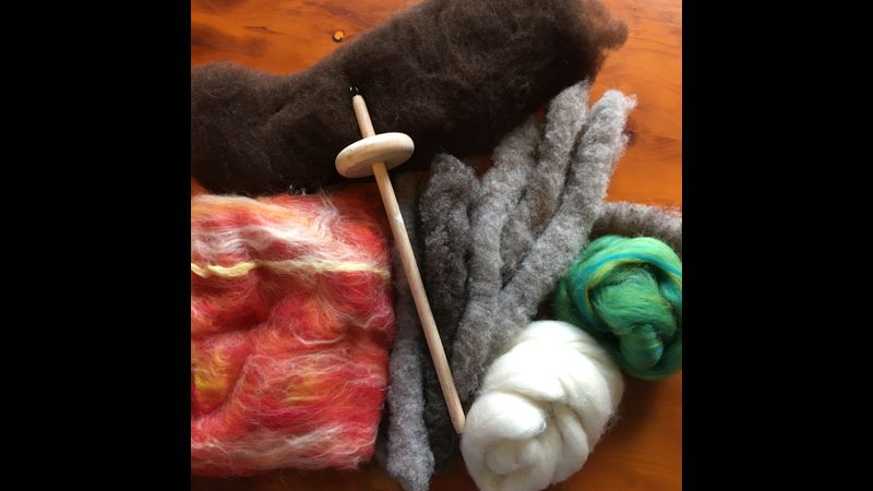 Example spinning kit, colours and materials may vary