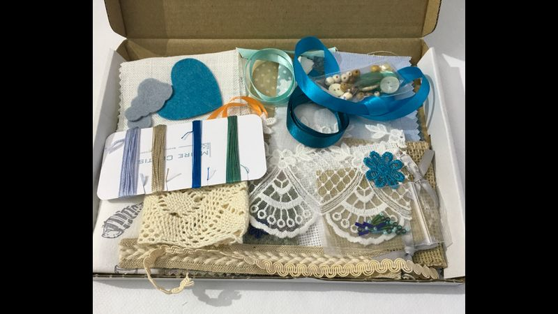 A treasure trove of slow stitching goodies