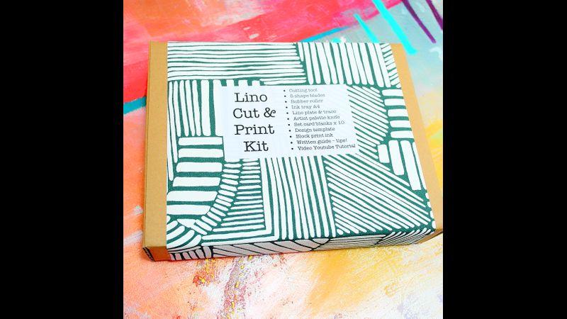 Lino Print Kit 18 items