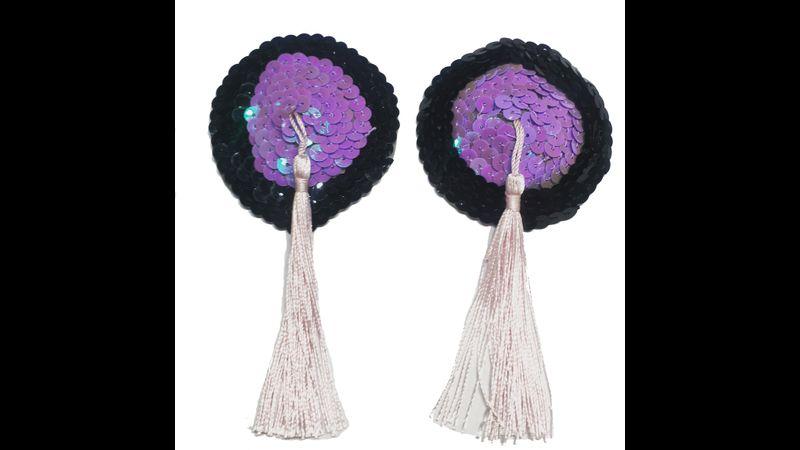 Purple & Black Circles