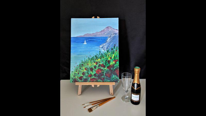 Painting model: Côte d'Azur