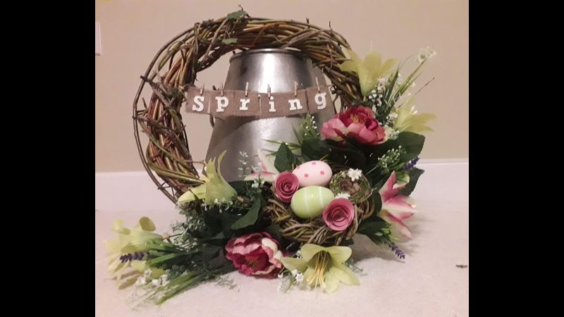 Welcome to Spring Willow Wreath.