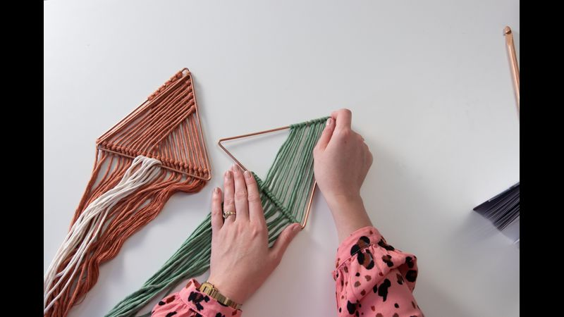 Learn to make a wall hanging