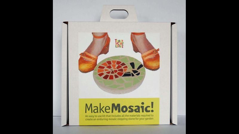 Snail, Mosaic Stepping Stone Kit