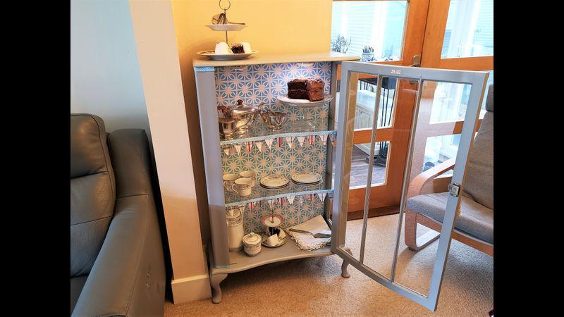 English tea room: One of four alternative designs