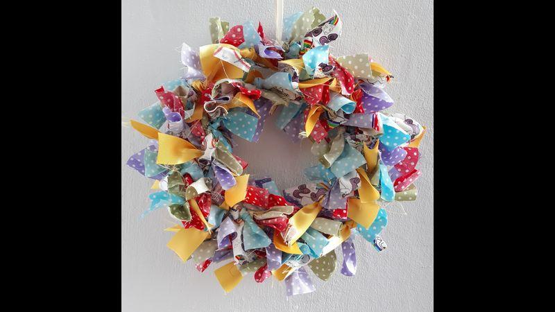 Rag Wreath Kit