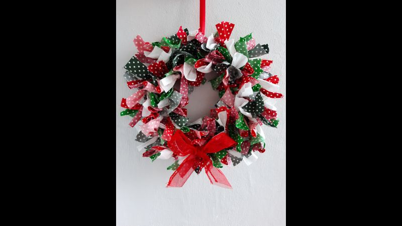 Rag Wreath Kit