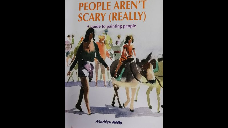 People aren't scary really book SIGNED