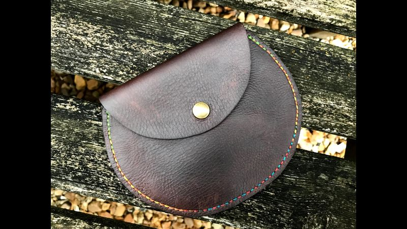 An example of the type of purse you could make on the course.
