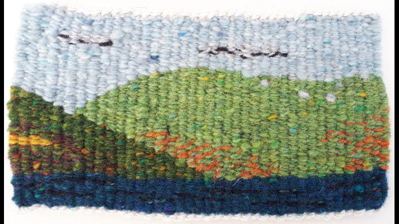 Woven Landscape Art