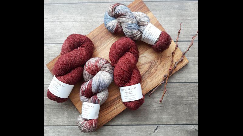 Tunisian yarn