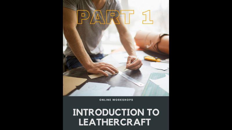 Learn leathercraft - basic skills class 1